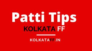 Kolkata FF Patti Tips